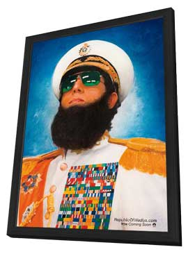 The Dictator - 27 x 40 Movie Poster - Style A - in Deluxe Wood Frame