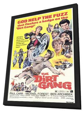 The Dirt Gang - 11 x 17 Movie Poster - Style A - in Deluxe Wood Frame