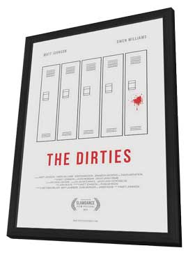 The Dirties - 27 x 40 Movie Poster - Style A - in Deluxe Wood Frame