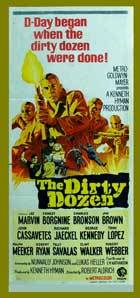 The Dirty Dozen - 14 x 36 Movie Poster - Insert Style B