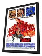 The Dirty Dozen - 27 x 40 Movie Poster - Style A - in Deluxe Wood Frame