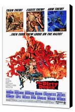 The Dirty Dozen - 27 x 40 Movie Poster - Style A - Museum Wrapped Canvas