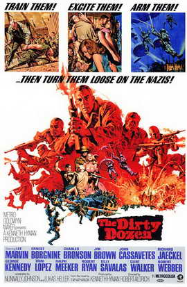 The Dirty Dozen - 11 x 17 Movie Poster - Style A