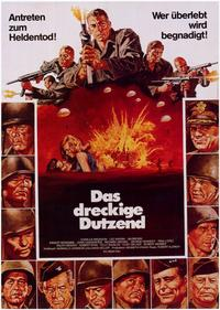 The Dirty Dozen - 11 x 17 Movie Poster - Style B