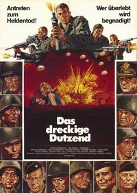 The Dirty Dozen - 11 x 17 Movie Poster - German Style A