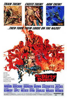 The Dirty Dozen - 27 x 40 Movie Poster - Style A