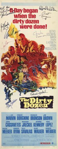 The Dirty Dozen - 14 x 36 Movie Poster - Insert Style A