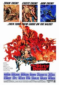 The Dirty Dozen - 43 x 62 Movie Poster - Bus Shelter Style A