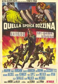 The Dirty Dozen - 11 x 17 Movie Poster - Italian Style A