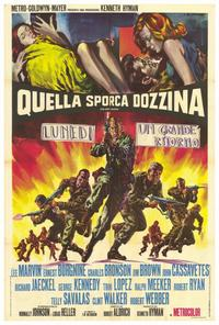 The Dirty Dozen - 27 x 40 Movie Poster - Italian Style A