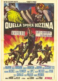 The Dirty Dozen - 39 x 55 Movie Poster - Italian Style A
