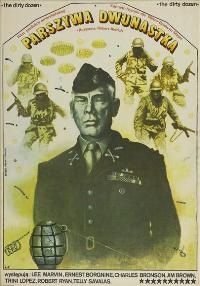 The Dirty Dozen - 27 x 40 Movie Poster - Polish Style A