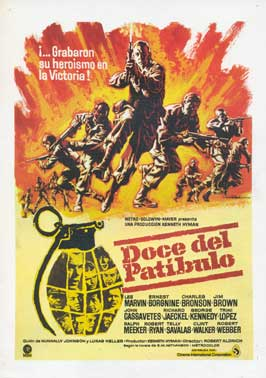 The Dirty Dozen - 27 x 40 Movie Poster - Belgian Style B