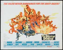 The Dirty Dozen - 11 x 14 Movie Poster - Style I