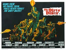 The Dirty Dozen - 11 x 17 Movie Poster - Style C
