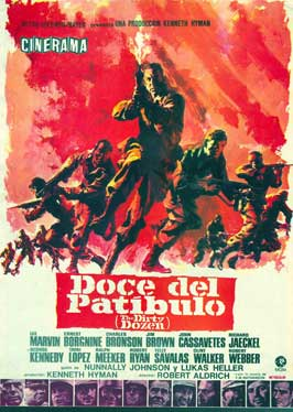 The Dirty Dozen - 11 x 17 Movie Poster - Spanish Style B