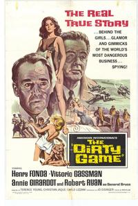 The Dirty Game - 27 x 40 Movie Poster - Style A