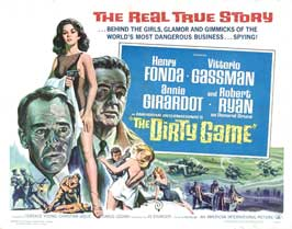 The Dirty Game - 22 x 28 Movie Poster - Half Sheet Style A
