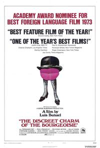 The Discreet Charm of the Bourgeoisie - 27 x 40 Movie Poster - Style A