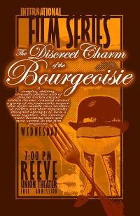 The Discreet Charm of the Bourgeoisie - 11 x 17 Movie Poster - French Style B