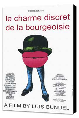 The Discreet Charm of the Bourgeoisie - 11 x 17 Movie Poster - French Style A - Museum Wrapped Canvas