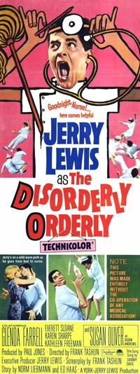 The Disorderly Orderly - 14 x 36 Movie Poster - Insert Style A