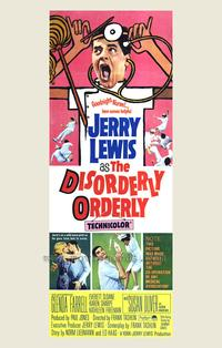 The Disorderly Orderly - 43 x 62 Movie Poster - Bus Shelter Style A