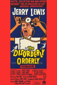 The Disorderly Orderly - 27 x 40 Movie Poster - Style C