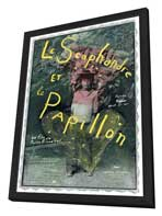 The Diving Bell and the Butterfly - 27 x 40 Movie Poster - French Style A - in Deluxe Wood Frame
