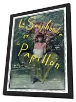 The Diving Bell and the Butterfly - 11 x 17 Movie Poster - French Style A - in Deluxe Wood Frame