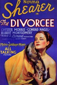 The Divorcee - 27 x 40 Movie Poster - Style A