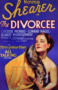 The Divorcee - 43 x 62 Movie Poster - Bus Shelter Style A