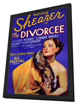 The Divorcee - 11 x 17 Movie Poster - Style A - in Deluxe Wood Frame