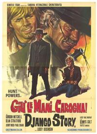 The Django Story - 11 x 17 Movie Poster - Italian Style A
