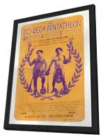 The Do-Deca-Pentathlon - 11 x 17 Movie Poster - Style A - in Deluxe Wood Frame