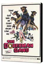 The Doberman Gang - 11 x 17 Movie Poster - Style A - Museum Wrapped Canvas