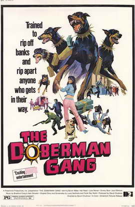 The Doberman Gang - 11 x 17 Movie Poster - Style A