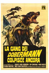 The Doberman Gang - 27 x 40 Movie Poster - Italian Style A