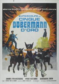 The Doberman Gang - 27 x 40 Movie Poster - Italian Style B