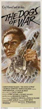 The Dogs of War - 14 x 36 Movie Poster - Insert Style A
