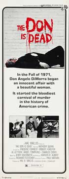 The Don Is Dead - 14 x 36 Movie Poster - Insert Style A