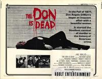 The Don Is Dead - 11 x 14 Movie Poster - Style A