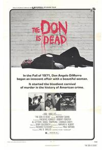 The Don Is Dead - 27 x 40 Movie Poster - Style A