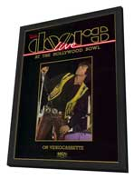 The Doors: Live at The Hollywood Bowl - 11 x 17 Movie Poster - Style A - in Deluxe Wood Frame