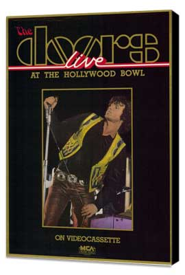 The Doors: Live at The Hollywood Bowl - 11 x 17 Movie Poster - Style A - Museum Wrapped Canvas