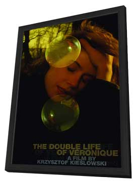The Double Life of Veronique - 27 x 40 Movie Poster - Style B - in Deluxe Wood Frame
