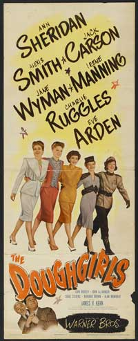 The Doughgirls - 14 x 36 Movie Poster - Insert Style A