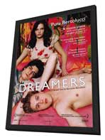 The Dreamers - 27 x 40 Movie Poster - Style A - in Deluxe Wood Frame