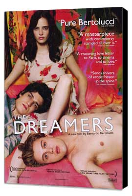 The Dreamers - 27 x 40 Movie Poster - Style A - Museum Wrapped Canvas