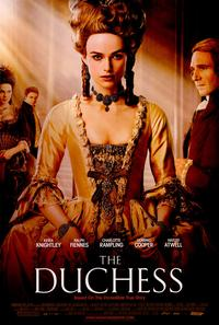 The Duchess - 43 x 62 Movie Poster - Bus Shelter Style A